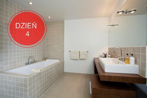 Mycie łazienki Sprzątanie Dzień 4 Perfekcyjnawdomupl