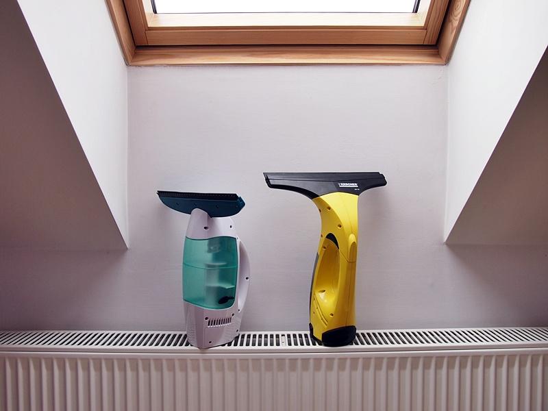 odkurzacz do okien karcher czy leifheit