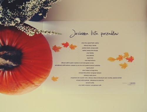 przygotuj się na jesień lista zadań