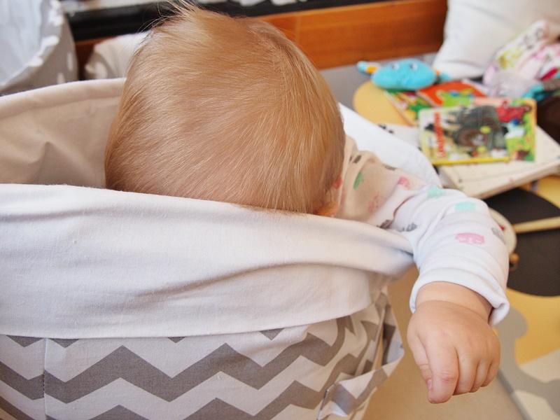 organizacja kącika dziecięcego w salonie
