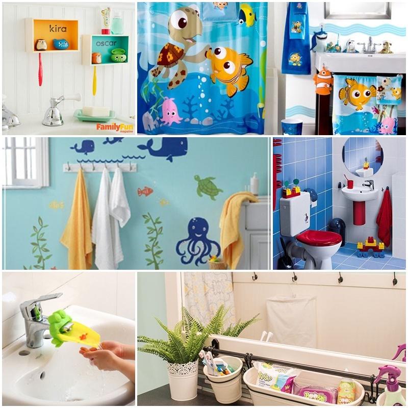 Jak Zorganizować łazienkę Dla Dziecka Perfekcyjnawdomupl